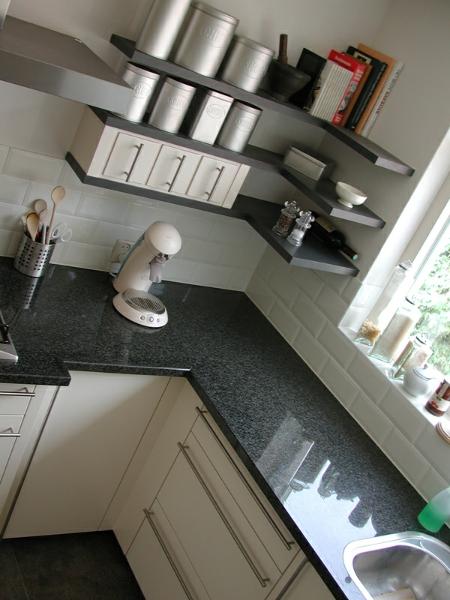 keuken schappen zwevend