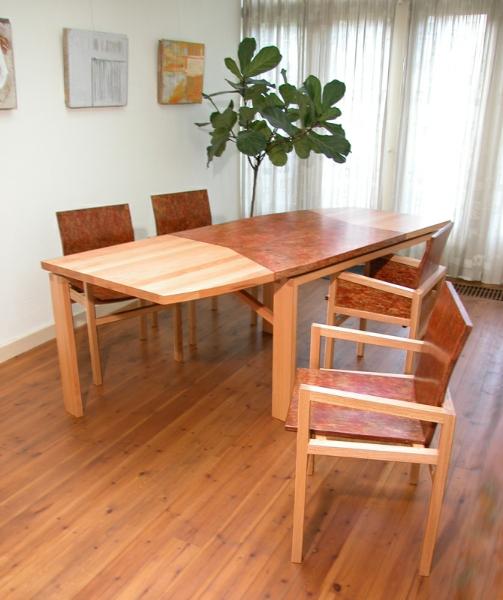 tafel stoelen meubel meubelmaker design opmaat